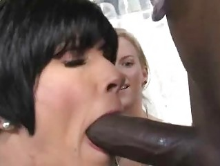 mother and daughter banged by a black man