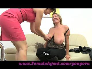 femaleagent. biggest bossom into hungary