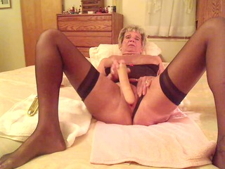 elderly shirley makes vid for her fuckers