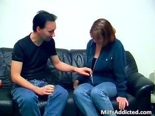 inexperienced german mature pair having sex