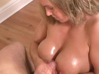 titfuck handjob bleached grown-up