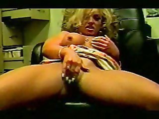 lady office sex and masturbation