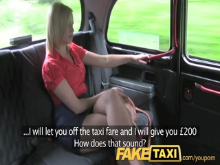 faketaxi so impressive blond lady gets more than