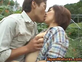 chisato shouda eastern elderly chick gets