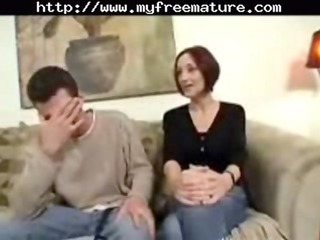 woman son sexing cougar mature fuck elderly old