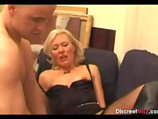casting french pale cougar lady