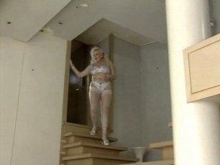 german lady entertains clients