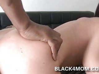 white lady rides on ebony cock because white boys