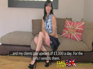 fakeagentuk dirty talking lady acquires it inside