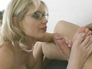 slutty lady in glasses obtains poked hard