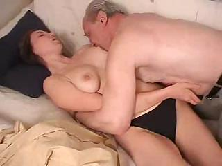 russian babe drilled by grandfather