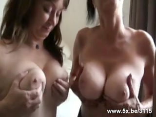 two matures groupfucked by lil into number rods