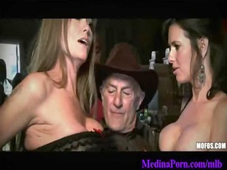 07-busty ladies licking giant dark dicks