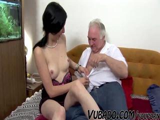 older male fucks fresh on berth