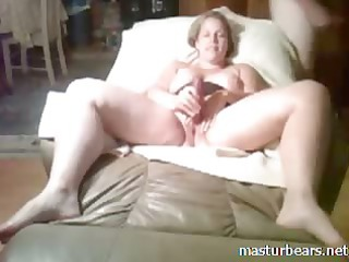 girl slut stuffing pussy with hand and sex toy
