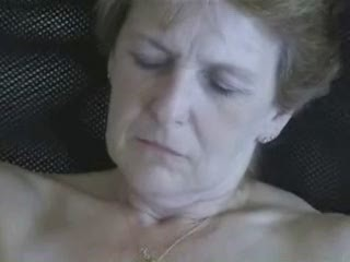 62 years granny lady masturbating. inexperienced