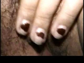 eastern inexperienced lady dildoing part5