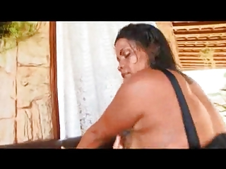 brazilian mom with giant arse