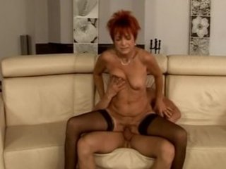 awesome euro ginger elderly