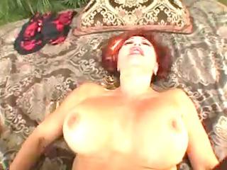 awesome elderly slut with huge bazookas