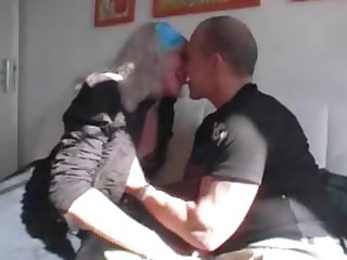 german granny obtains some adore from a younger