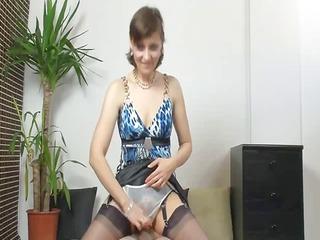 mature bikini handjob