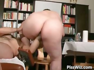 naughty cougar babes piss and gets juicy part4