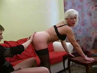granny inga with saggy breast gets fucked.