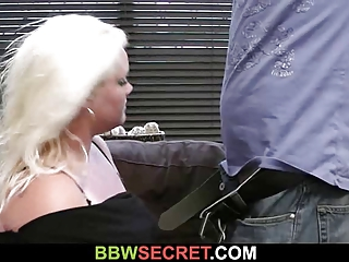 his maiden leaves and he bangs blond fatty