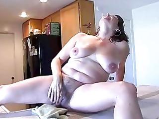 hairy lady