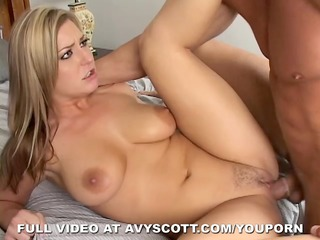 avy scott gets a giant penis and likes it