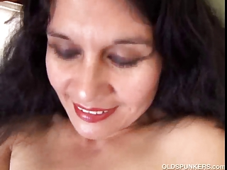 spicy mature latino young loves to show off her