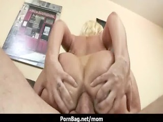 very impressive big chest mommy acquiring pierced