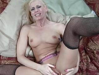 hot classy slut wife obtains brutally gang-banged