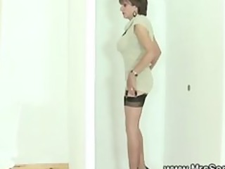 cuckold watches wife suck gloryhole cock inside