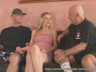 stunning maiden deeply gang-banged