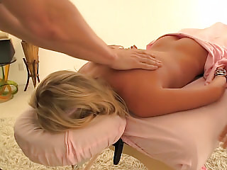 gorgeous woman facial