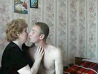 hot blond older chick shags with slutty