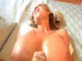 cougar albino has giant boobs and a hunger for
