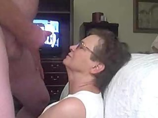 elderly acquires a facial