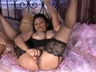 naughty cougar tit grabber stockings