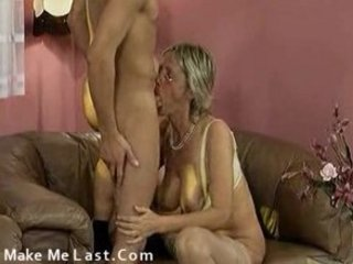 grandmom and lover fucking