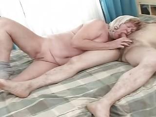 grandfather fuck his elderly woman until wild