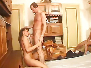 attractive older performs for her cuckold fellow