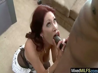 cougar babe like brown penis in her pussy video-34