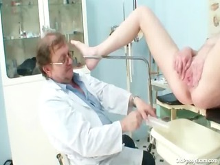 big tits belle agnesa perverted vagina examination