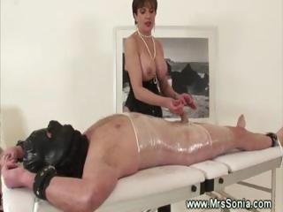 dominatrix fond of mummification