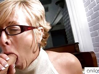 super granny seduces scholar