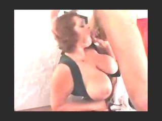 large old lady needs 2 penises