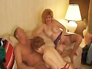cave foxx threeway with a older grown-up mature